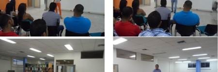 Socialización del programa ante estudiantes de Contabilidad