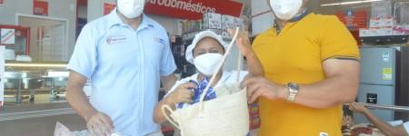 Jornada de entrega de bolsas biodegradables en fique para mercar